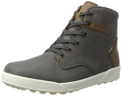 Lowa Herren London Ii GTX Qc Hohe Sneaker, Grau (Antracite/beige), 43.5 EU