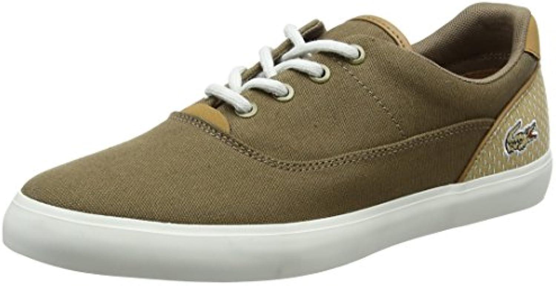 Lacoste Herren Jouer Lace 118 1 Cam Sneaker  Braun