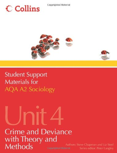 Student Support Materials for Sociology – AQA A2 Sociology Unit 4: Crime and Deviance with Theory and Methods