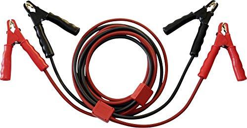 IPmediaPRO Set® SKS25-ST Starthilfekabel 25mm² Kupfer 3.5m mit Schutzschaltung, mit Stahlblech-Zangen