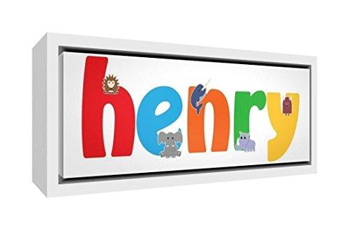 Little Helper Napperon avec Coaster Style Illustratif Coloré avec le Nom de Jeune Garçon Alexis