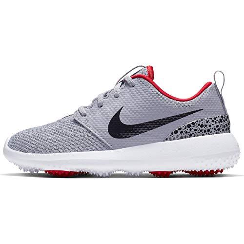 Nike Roshe G Jr, Scarpe da Golf Bambino, Grigio (Gris/Rojo 004), 37.5 EU