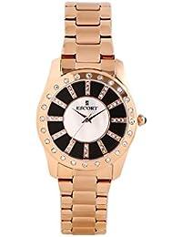 Escort Analog White/ Brown Dial Women's Watch-2781 RGM.3