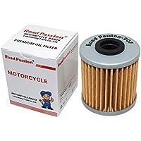 Road Passion Filtro de aceite para SUZUKI RMZ250 249 2004-2015/RMX450Z 2010-