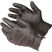 vinyl black disposable gloves powder free