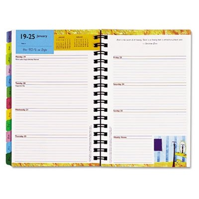 Franklin Covey Her Point Of View Planner Refill - Weekly - 5.50 X 8.50 - 1 Year - January Till December 1 Week Double Page Layout - Paper by Franklin Covey