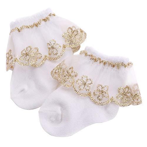 Yichener Baby Socken, für Taufe, Winter, warm, Meias para Bebe, Baumwolle, gerüscht, für Babys, für Neugeborene