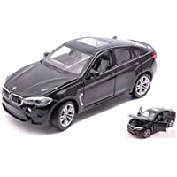 NEW RASTAR RAT56600BK BMW X6 M 2018 Black 1:24 MODELLINO Die Cast Model