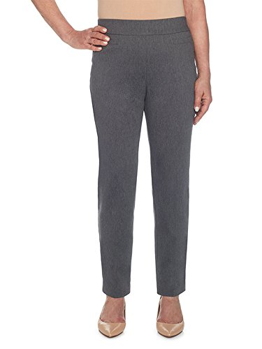 Alfred Dunner Damen Proportioned Medium Allure Slim Pant Unterhose, grau, 42 -