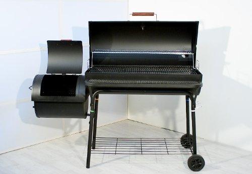 Rauchfreier Holzkohlegrill Xxl : Smoker bbq grill xxl grillwagen holzkohlegrill sehr große