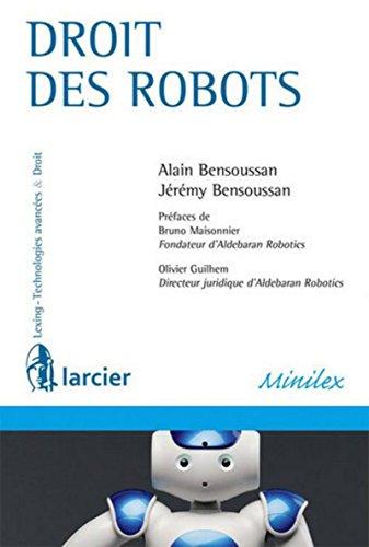 Droit des robots par Alain Bensoussan