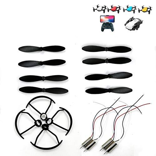 Preisvergleich Produktbild Formulaone CW / CCW Wind Klinge / Paddel + Schutzring / Schutz Kreis + Motor Für Sg800 Quadcopter Drone Ersatzteile Zubehör - Schwarz