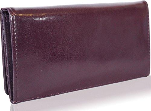 Kukubird nuove ragazze / Signore bassotto grande fumetto disegni Purse Wallet Purple