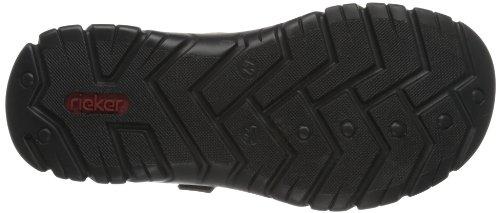Rieker - 26771 Sandals-men, Sandali Uomo Marrone (Braun (zimt/ziegel/schwarz / 25))