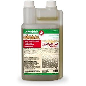 [Gesponsert]Röhnfried pH-Optimal KaninFit - fördert die Darmgesundheit auch im für Kaninchen besonders empfindlichen Blinddarm (1 Liter)