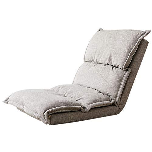 JXHD Faltender Sofa-Stuhl/Faules Sofa/Gast-einzelner Rückenlehne-Stuhl Für Schlafzimmer,...