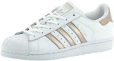 adidas Superstar W Calzado white/copper met