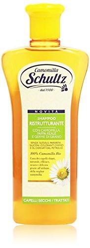 Schultz - Shampoo Ristrutturante, 100% Camomilla Bio - 250 ml