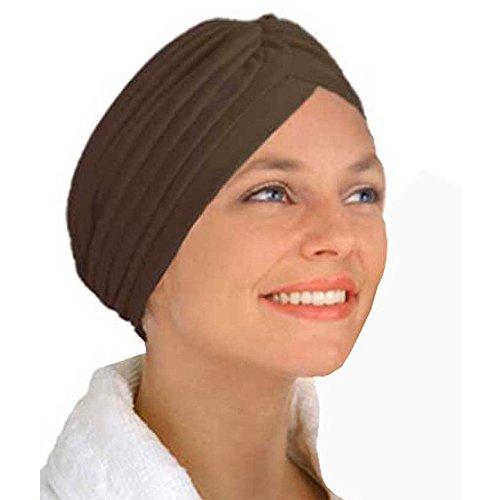 Qissy® Turbante Retro Equipaggiata copertura della testa Wrap fascia Chemo