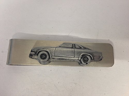 stainless-steel-money-clip-with-a-opel-manta-3d-pewter-effect-emblem-ref173