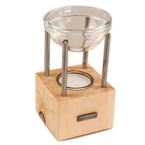 4betterdays Hochwertige Duftlampe aus Zirbenholz - Handgemacht in Österreich