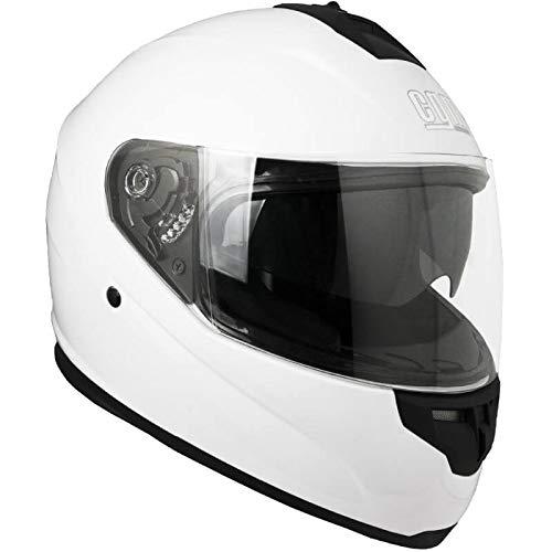 CGM Casco integrale 315A LUNAR Bianco, L
