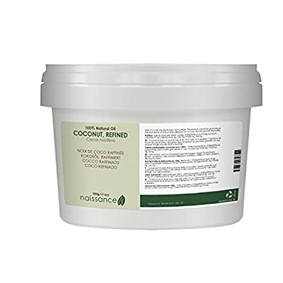 Naissance Refined Coconut Oil 500g 100% Pure from Naissance