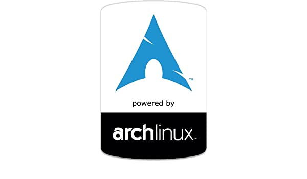 Arch Linux OS badge decal sticker: Amazon co uk: Kitchen & Home