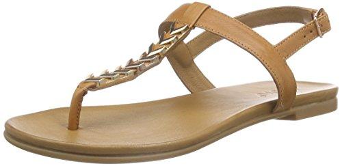 Inuovo - 6361, Scarpe col tacco con cinturino a T Donna Marrone (Marrone (Coconut))