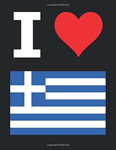 i-love-greece-100-page-blank-notebook-unlined-white-paper-black-cover-85-x-11-216-mm-x-279-mm-50-she
