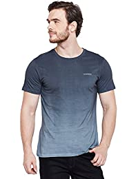 LE BOURGEOIS Ombre Dying Print T-Shirt for Men