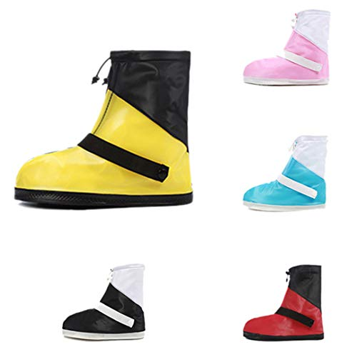 AKUKA Snow Rain Boots Shoes Covers,Waterproof Overshoes,Galoshes,Wellies,Gumboots Travel for Men/Women / Students