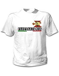 teesquare1st FLOTTIGLIA Decima MAS 1 Camiseta Blanca para Hombre de Algodon