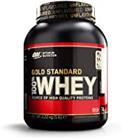 Optimum Nutrition Gold Standard Whey Protein Powder Muscle Building Supplements with Glutamine and Amino Acids, White...