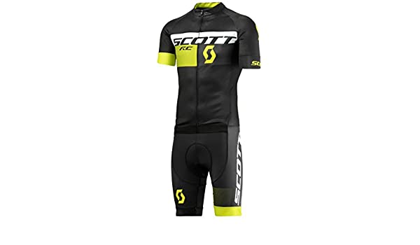 83a2a50bc Scott RC Pro 2016 + + + Cycling Body Suit Black Yellow Black black sulphur  yellow Size XXL (58)  Amazon.co.uk  Sports   Outdoors