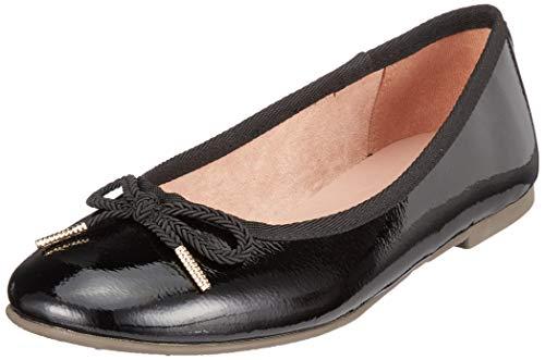Tamaris 1-1-22123-22 018, Ballerines Femme, Noir (Black Patent 18), 38 EU