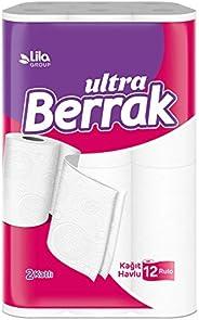 Ultra Berrak Kağıt Havlu, 12'li, 1 Paket, (1 X 12 A