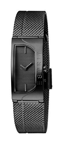 Esprit Damen Analog Quarz Uhr mit Edelstahl Armband ES1L045M0055