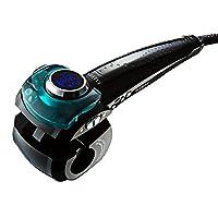 ElleSye Rizador de Pelo Profesional,Moldeador de Pelo Cerámico, Moldeador de cabello con Pantalla LCD, Calentamiento Rápido,Temperatura/Ondulación/Lado Seleccionables