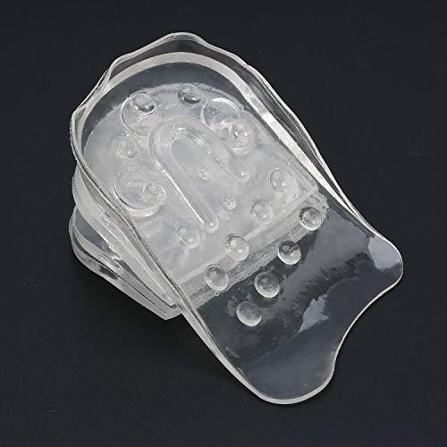 Taller 5 capas de la plantilla del gel de silicona inserciones alza en el zapato de ratón aumento de la altura NUEVO