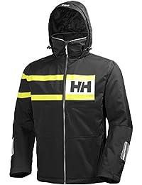 Helly Hansen Salt Power, Blouson à Capuche Homme, Noir, XX-Large