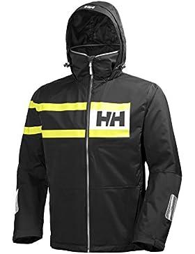 Helly Hansen Salt Power, Chaqueta para Hombre, Negro, XX-Large (Tamaño del Fabricante:2XL)