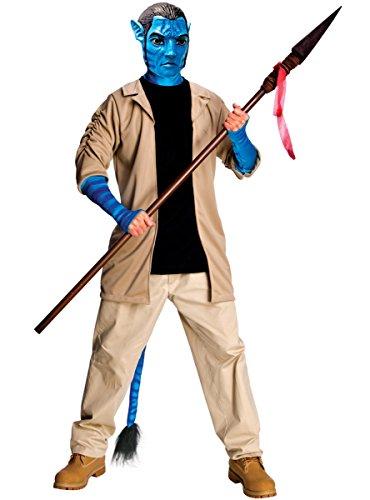 Kinder Jake Deluxe Kostüm - Rubie's Jake Sully Avatar Kostüm Deluxe Männer