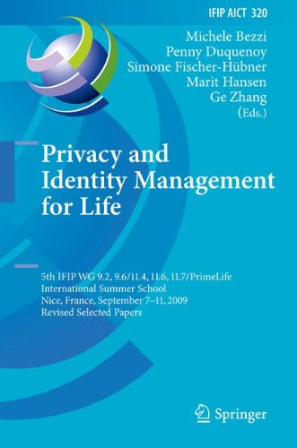 privacy-and-identity-management-for-life-5th-ifip-wg-92-96-117-114-116-primelife-international-summe