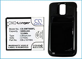 Vintrons Replacement Battery For Samsung Galaxy S Hercules,galaxy S Ii X,sgh-t989, T-mobile,galaxy S Ii 4