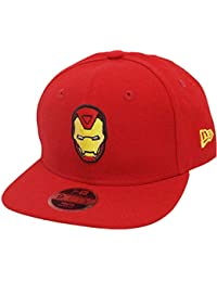 New Era Iron Man 9fifty 950 Scarlet Yellow UV Youth Snapback Cap Kids  Kinder Children Limited a16dfeea517