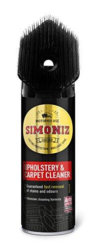 Simoniz Upholstery Cleaner with Brush 400ml