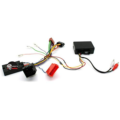 Interface Commande au volant PO5J pour Porsche ap04 Mini-ISO Ampli fibre JVC ADNAuto