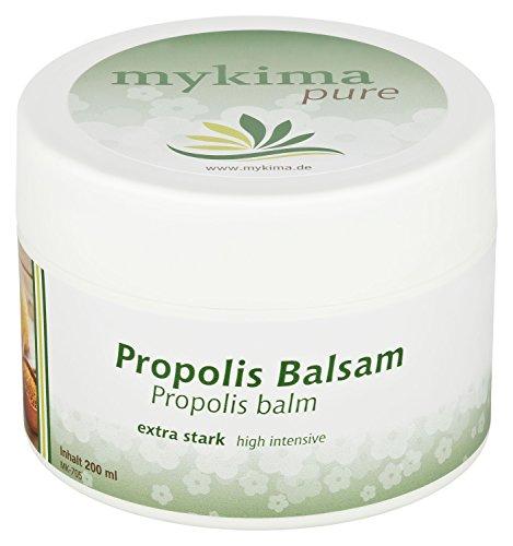 mykima Propolis Balsam intensiv 200 ml speziell zum Schutz und zur Regeneration der Haut. Intensive entzündungshemmende und antimikrobielle...