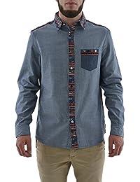 chemise desigual 67c12c1 navajo 1 bleu